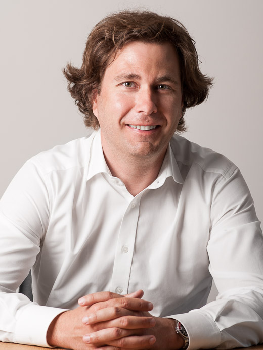Edouard Schneider, expert comptable et dirigeant de la fiduciaire